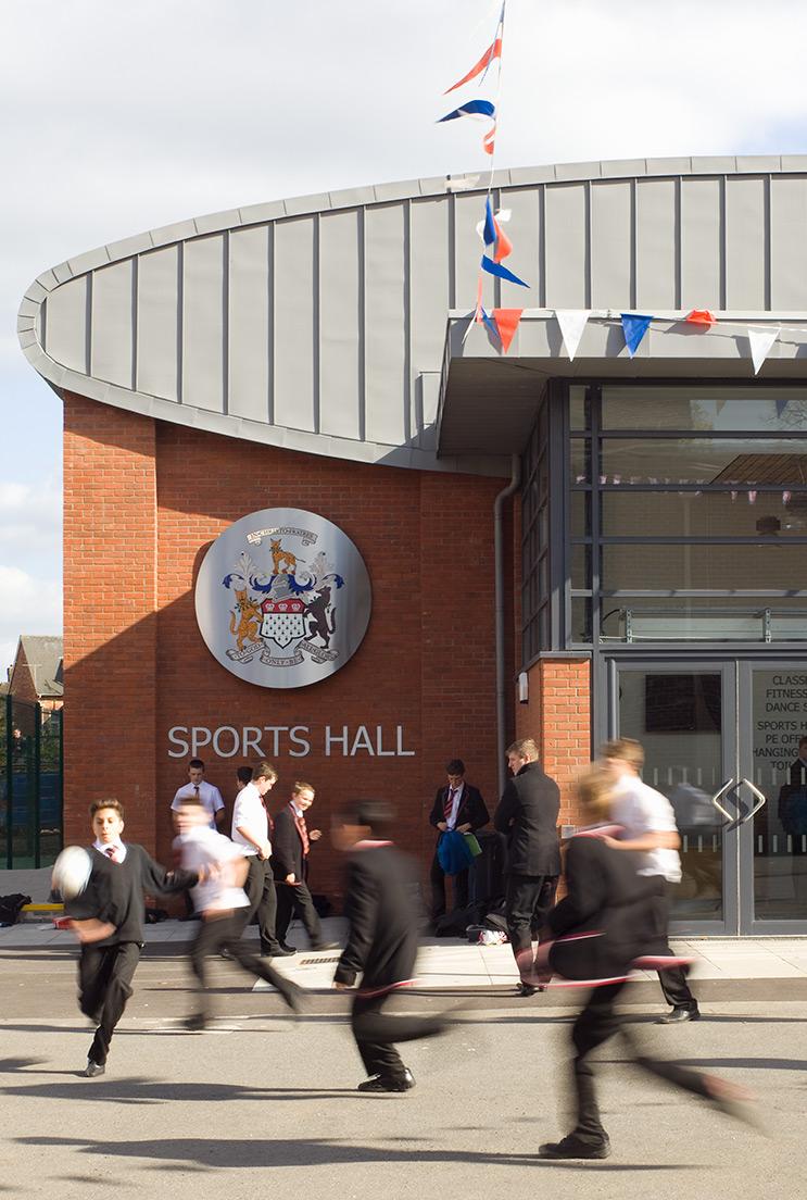 skinners new sports halll